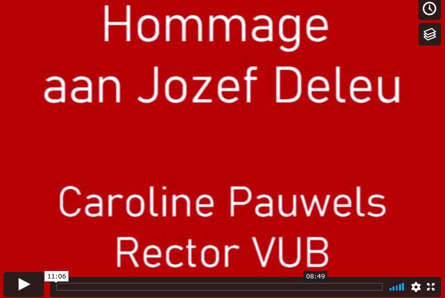 Caroline Pauwels: Hommage aan Jozef Deleu