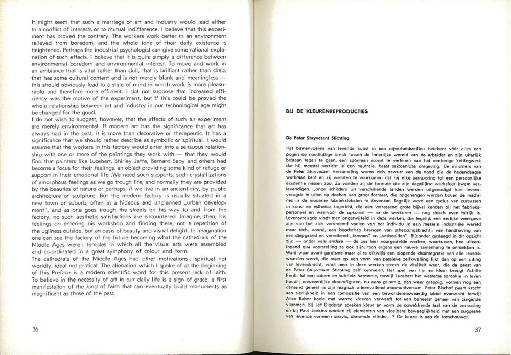 Peter Stuyvesant Stichting - introductie in het tijdschrift 'Ruimten'