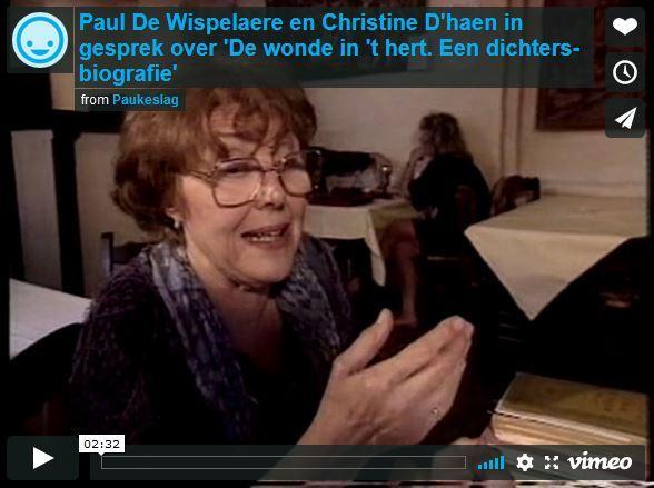 Christine D'haen en Paul De Wispelaere over 'De wonde in 't hert'