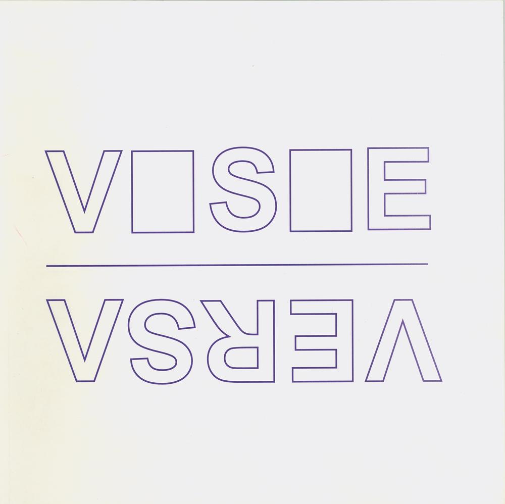 Tentoonstellingscatalogus Visie Versa