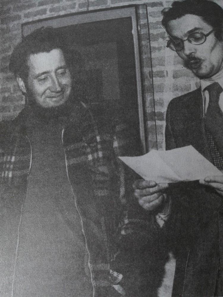 Renaat Ramon en Tony Rombouts