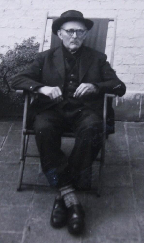 Alfons Van den Eynde, grootvader van Stefaan van den Bremt