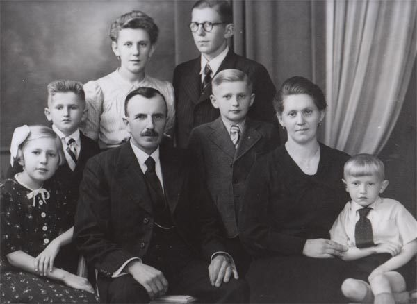Het gezin Louis Deleu – Germaine Demyttenaere 1943