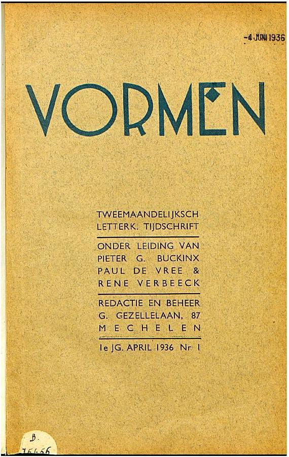 Cover Vormen