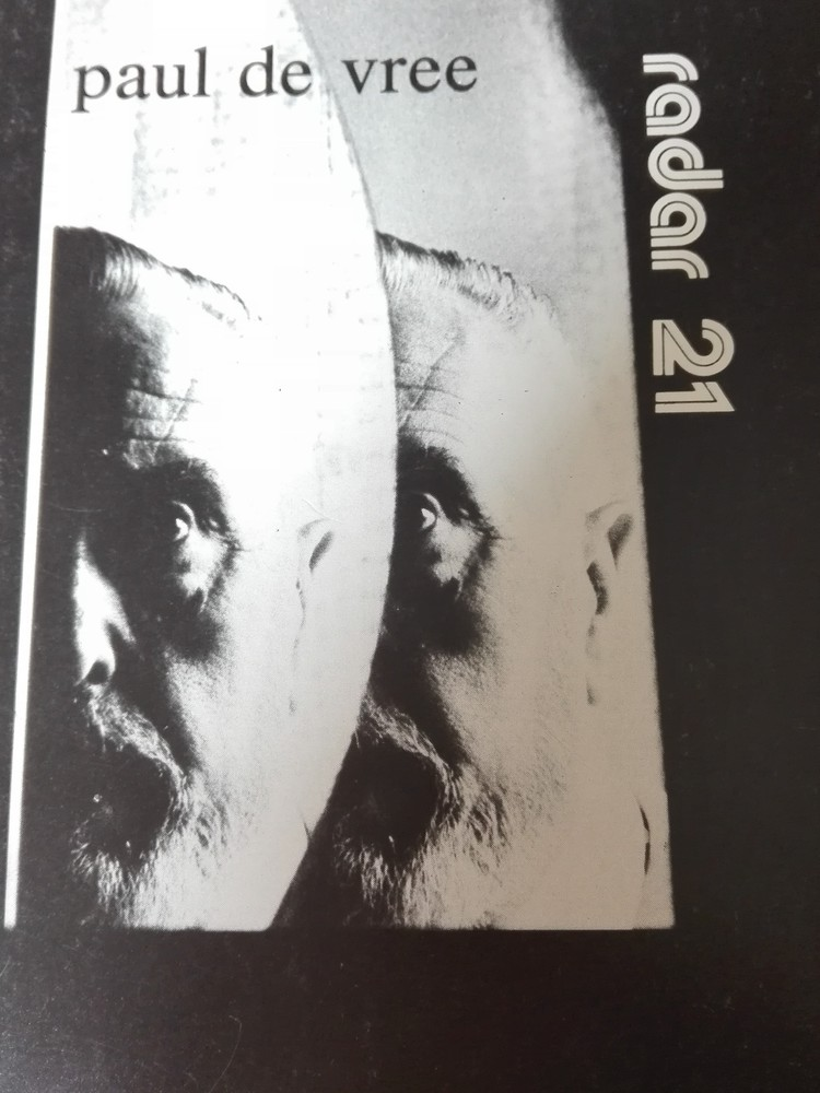 Cover Radar 21 - themanummer Paul de Vree