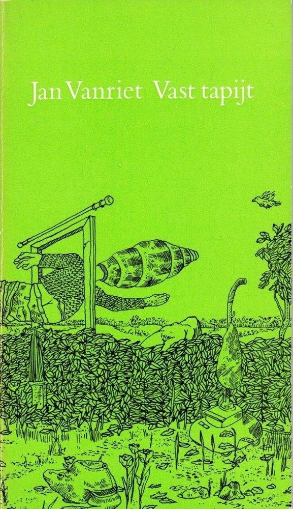 Dichtbundel 'Vast tapijt' Jan Vanriet