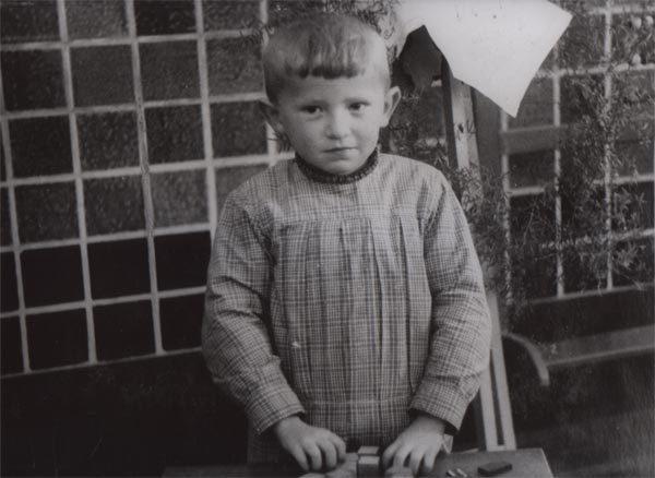Jozef Deleu in de kleuterschool