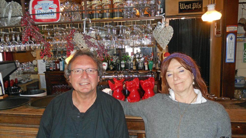 Luuk Gruwez en Anca Cristofovic