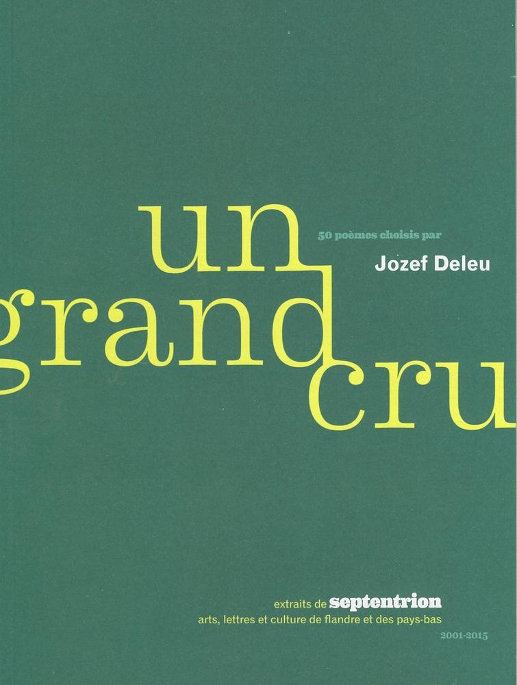 Cover Un Grand Cru - samenstelling Jozef Deleu