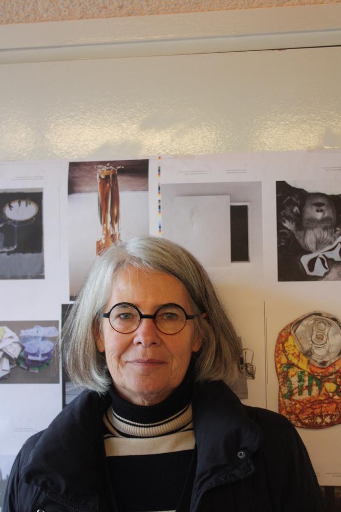 Antjie Krog op bezoek in Poëziecentrum