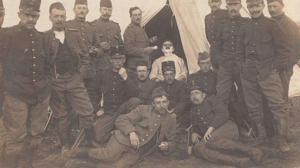 Hendrik Barnard, gemobiliseerd voor het leger / archief Barnard