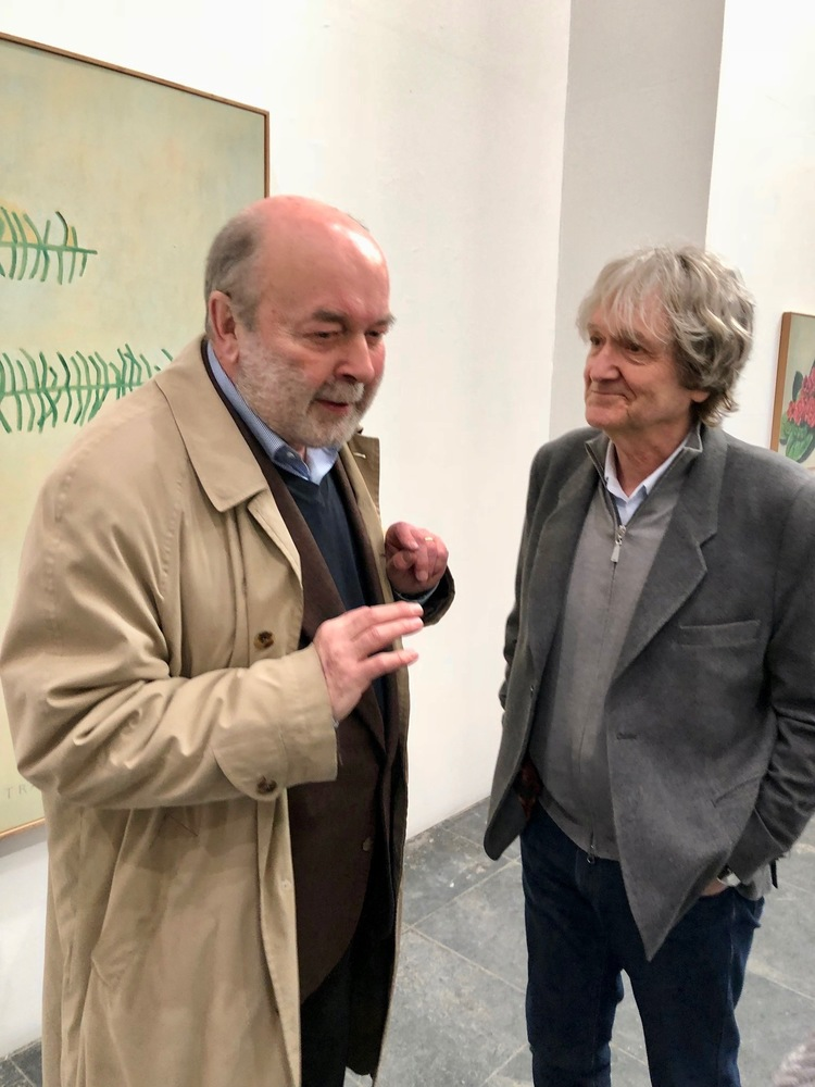 'Ex Voto' Jan Vanriet en Leonard Nolens