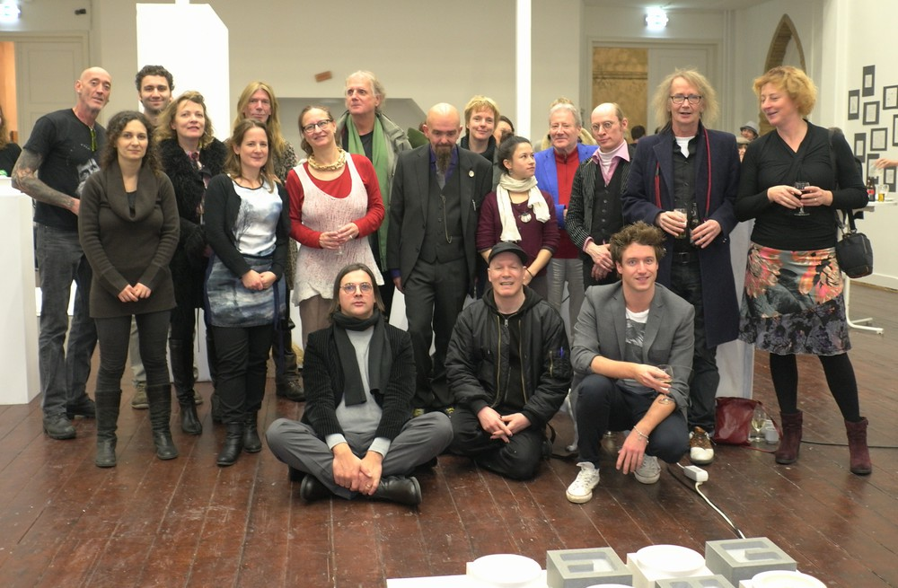 2012 k - De kunstenaars - Kapel van woorden.JPG