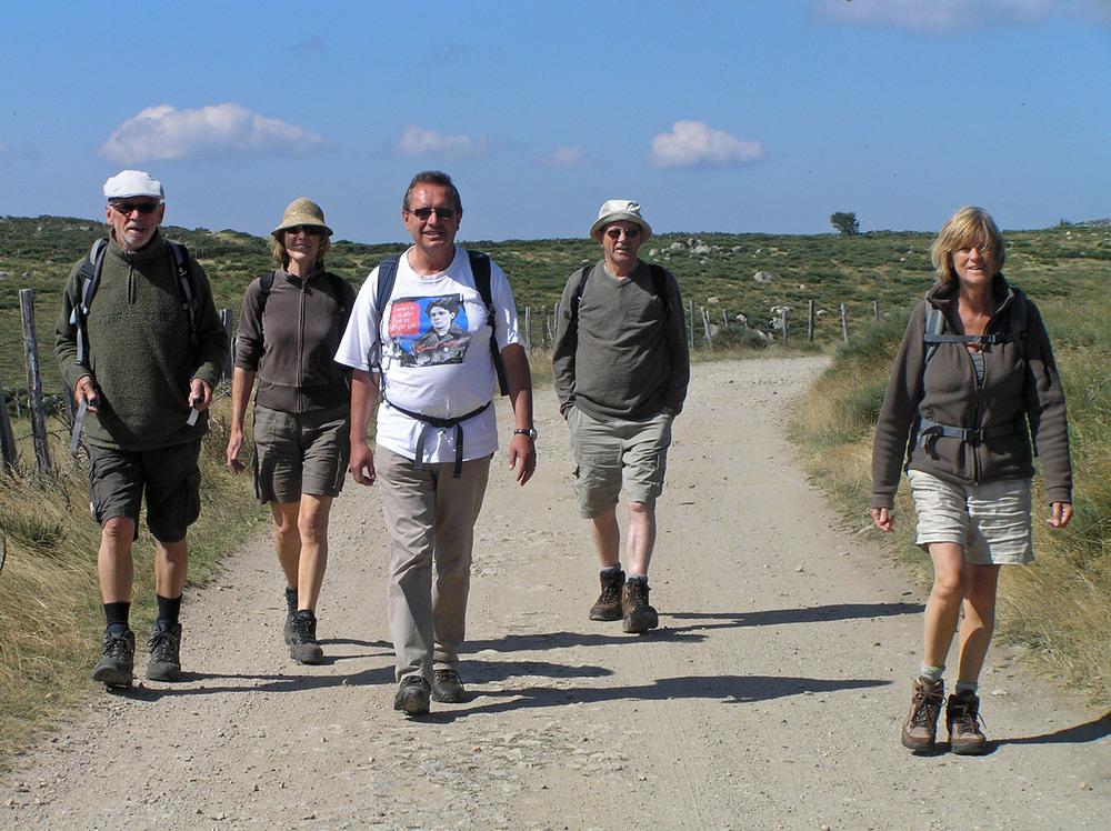 Luuk Gruwez en vrienden op vakantie in de Cevennen (2013)