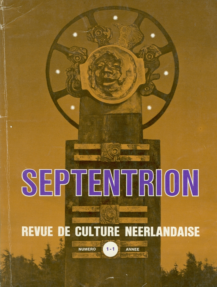 Covers tijdschrift Septentrion