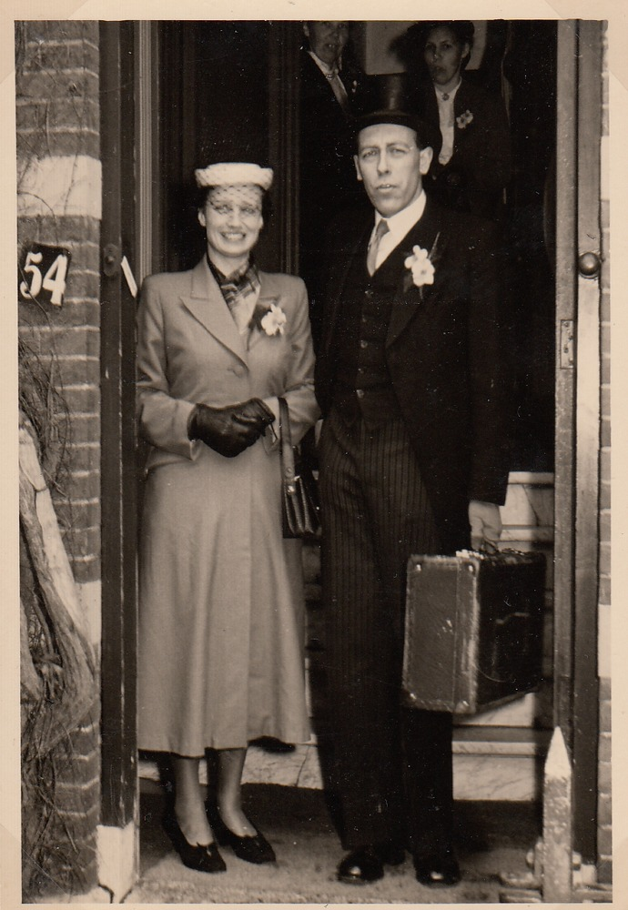 Reisfoto van Christina en Willem Barnard