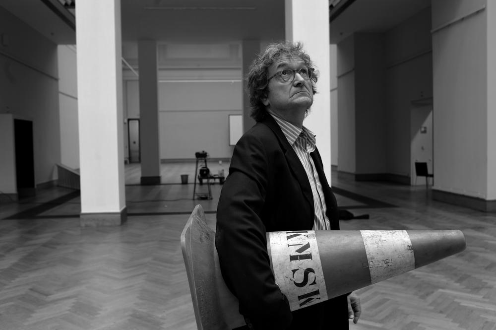 2009 Voorbereiding expositie Closing Time in Museum voor Schone Kunsten Antwerpen.JPG