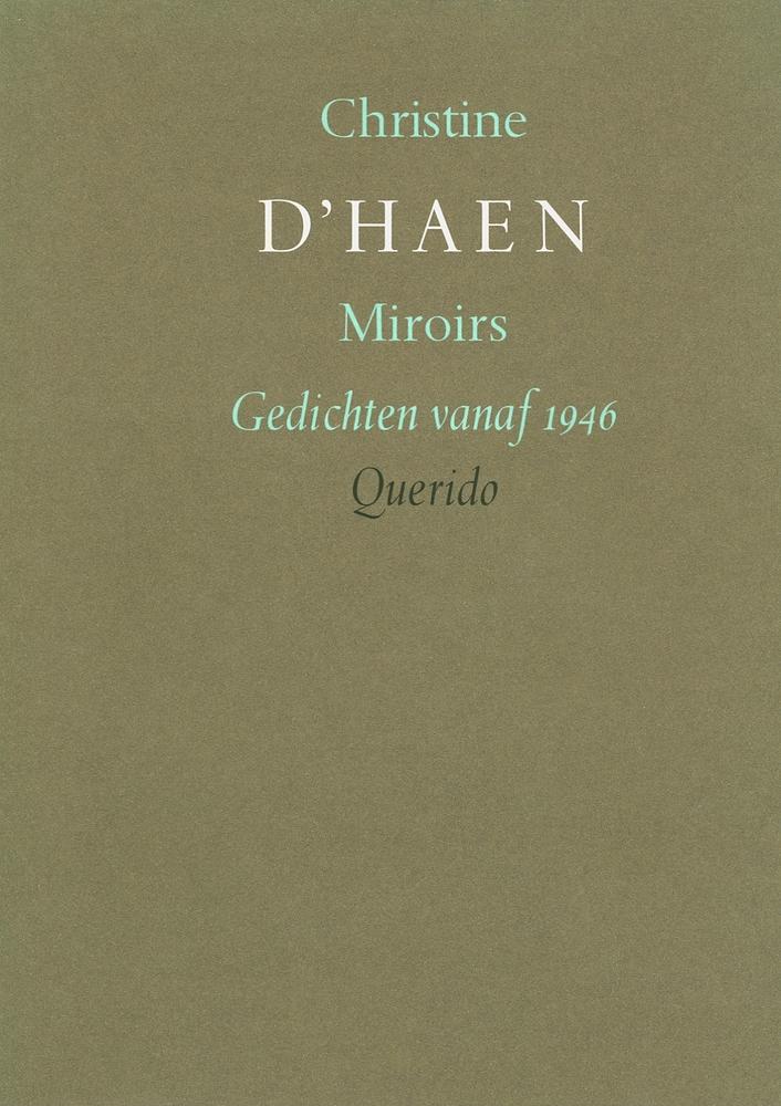 Cover dichtbundel 'Miroirs'