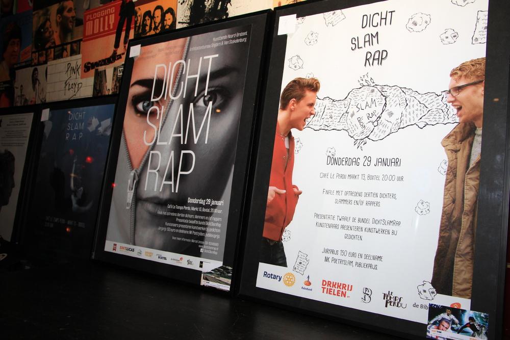 PosterontwerpenDichtSlamRap2015. Links de winnende poster van Wies Seelen-103.JPG