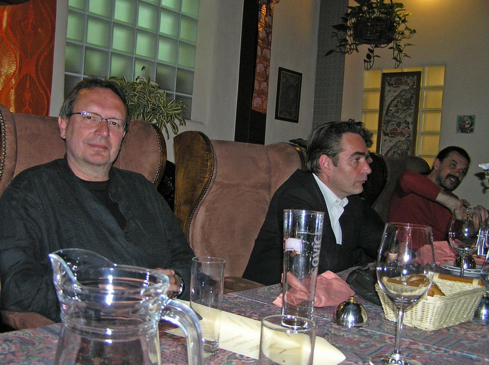 Luuk Gruwez en Menno Wigman op poëziefestival Wroclaw