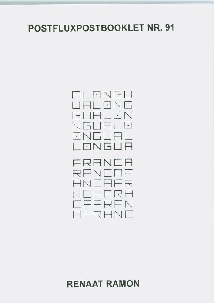Lingua Franca - Renaat Ramon