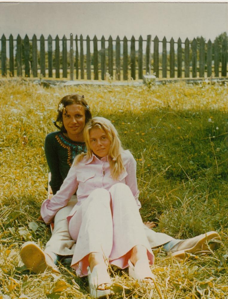 Luuk Gruwez met jeugdvriendin Danielle Grassi