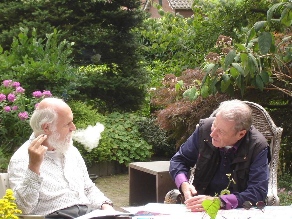 Renaat Ramon op de koffie bij Erik Slagter