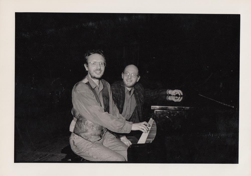 Luuk Gruwez en Eriek Verpale tijdens Saint-Amour, 1991