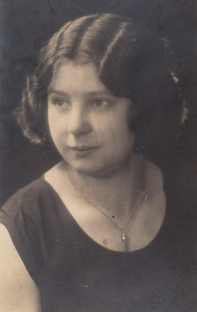Oma Liesje, grootmoeder van Luuk Gruwez