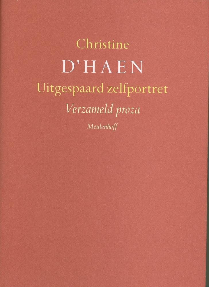 Cover 'Uitgespaard zelfportret. Verzameld proza'