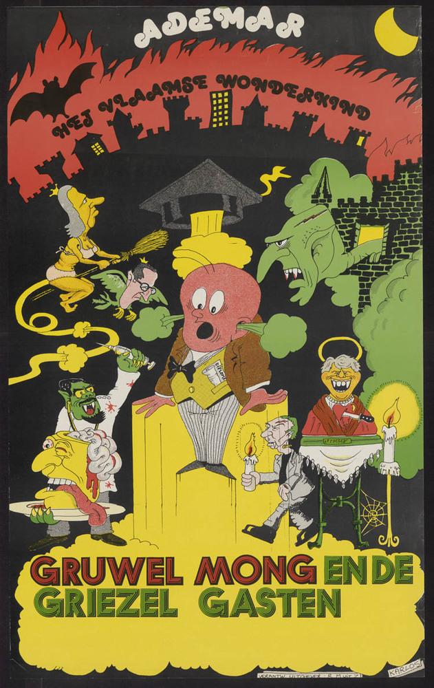 Affiche Ademar, het Vlaamse wonderkind