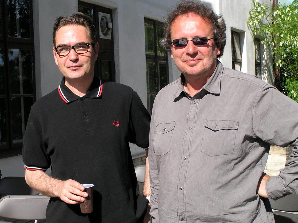 Luuk Gruwez en Menno Wigman in Lublin