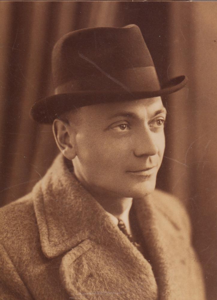 Opa Knor, grootvader van Luuk Gruwez
