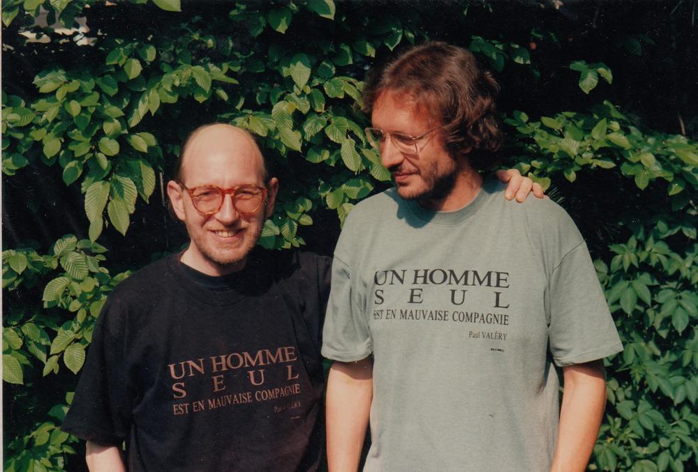 Luuk Gruwez en Eriek Verpale in Hasselt '93