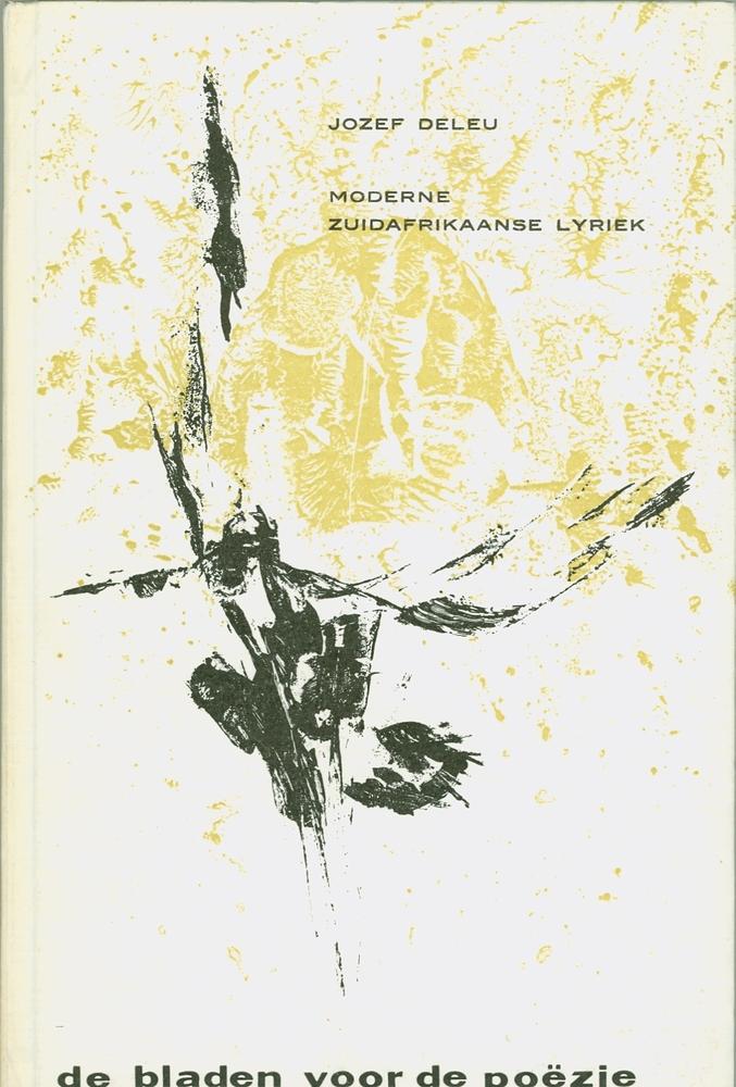 Cover bloemlezing Moderne Zuidafrikaanse lyriek - samenstelling Jozef Deleu