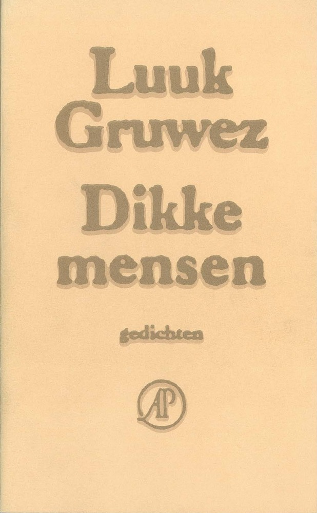 <em>Dikke Mensen </em>- Luuk Gruwez