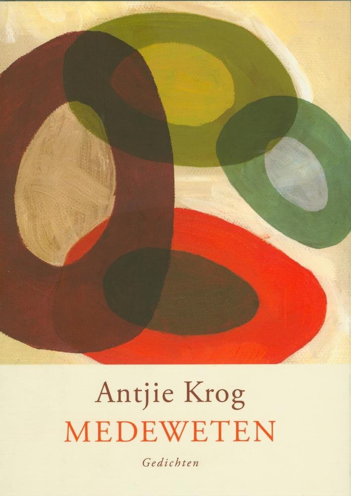 """Cover van de dichtbundel """"Medeweten"""" (Nl. vertaling) door Antjie Krog"""