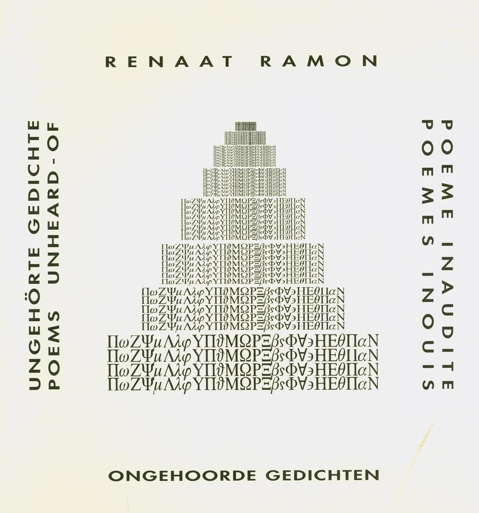Ongehoorde gedichten  - Renaat Ramon