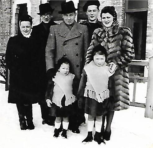 Familiefoto gezin van den Bremt