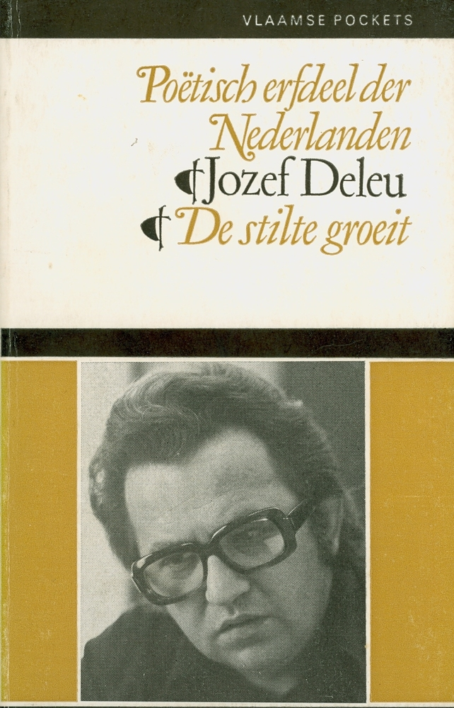 Cover De stilte groeit - Jozef Deleu