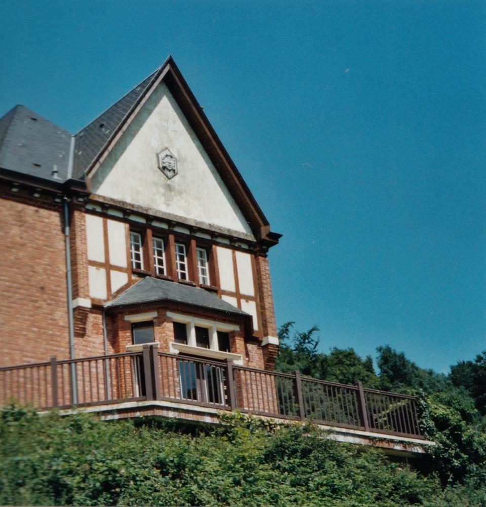 Villa du Mont-Noir, schrijfresidentie Luuk Gruwez 2002