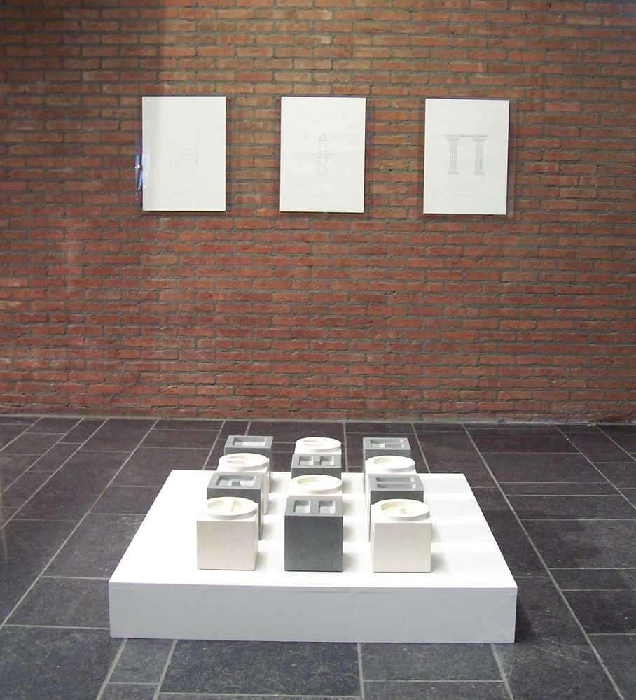 Visuele poëzie van Renaat Ramon in het Cultuurcentrum van Hasselt