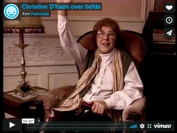 Christine D'haen over liefde
