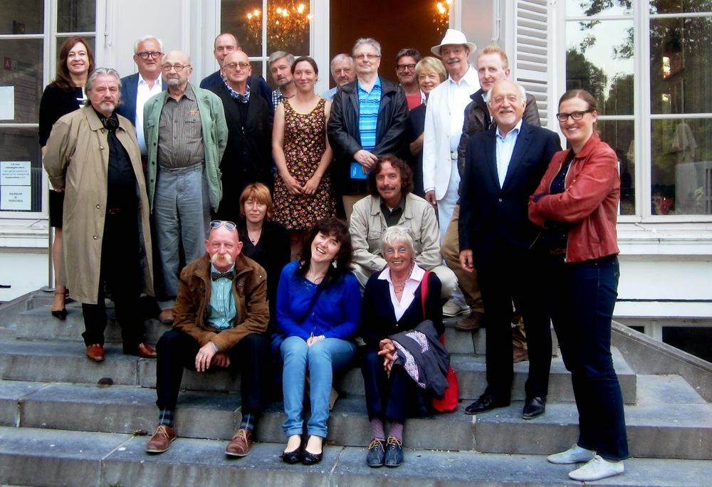 Tableau de la troupe Dichter bij beeld Middelheim 21 juni 2014 (foto Geertje Hoefnagels).JPG
