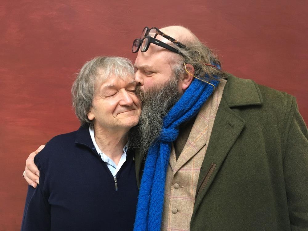 Jan Vanriet en Damiaan De Schrijver