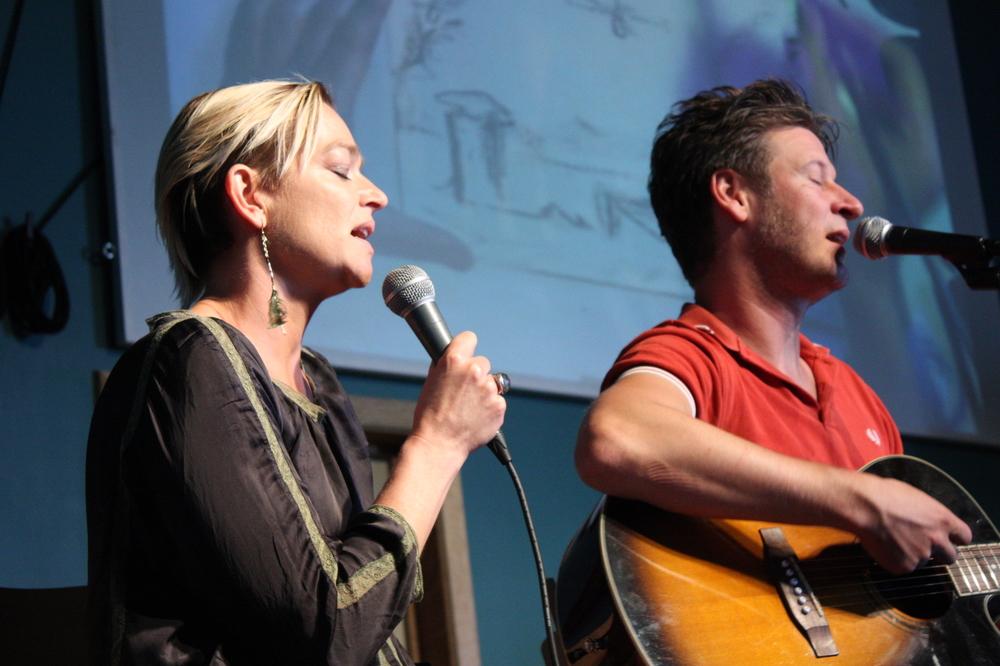 Wouter Deprez brengt duet met Marjan Meganck op Apéro Poëzie #3 tijdens TAZ 2018