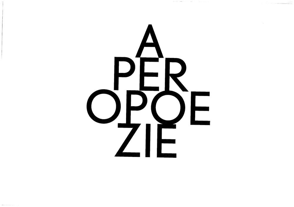Openingsbeeld Apero Poëzie - Gert Dooreman