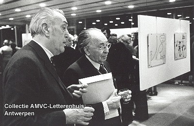 René Verbeeck en jeugdvriend Paul De Vree