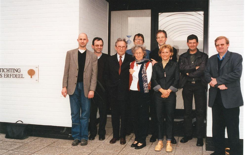 Medewerkers nemen afscheid bij het pensioen van Jozef Deleu