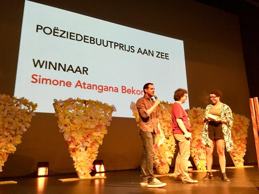 Uitreiking Poëziedebuutprijs Aan Zee 2018